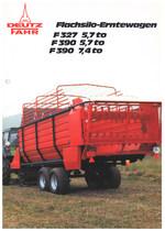 FLACHSILO-ERNTEWAGEN F 327 5,7 to - F 390 5,7 to - F 390 7,4 to