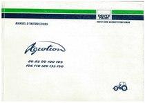 AGROTRON 80-85-90-100-105-106-110-120-135-150 - Utilisation et Entretien
