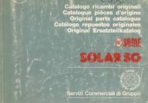 SOLAR 50 - Catalogo Parti di Ricambio / Catalogue de pièces de rechange / Spare parts catalogue / Ersatzteilliste / Lista de repuestos