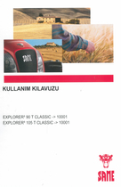 EXPLORER³ 90 T CLASSIC ->10001 - EXPLORER³ 105 T CLASSIC ->10001 - Kullanim kilavuzu