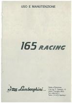 165 RACING - Libretto Uso & Manutenzione