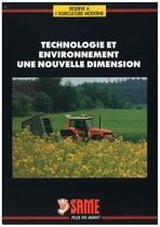 Technologie et environnement une nouvelle dimension