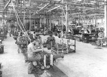 Stabilimento Lamborghini - Linea montaggio trattori