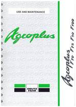 AGROPLUS F 70-75-90-100 - Use and maintenance