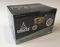 Trattore DEUTZ D 15 - Gold Edition