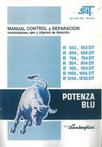 R 653 DT- 654 - 754 - 854 - 955 - 1056 - 1256 - Manual de Taller
