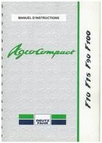 AGROCOMPACT F 70-75-90-100 - Utilisation et Entretien