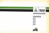 AGROSTAR 4.68 - AGROSTAR 4.78 - AGROSTAR 6.08 - AGROSTAR 6.28 - AGROSTAR 6.38 - Instruction book