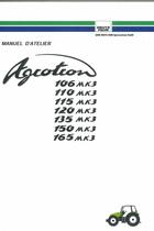 AGROTRON 106 - 110 - 115 - 120 - 135 - 150 - 165 MK3 - Manuel d'atelier