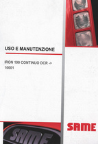 IRON 190 CONTINUO DCR ->10001 - Uso e manutenzione