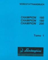 CHAMPION 160 - CHAMPION 180 - CHAMPION 200 - Werkstatthandbuch