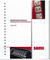 MOTORE 1000.4WT - Workshop manual
