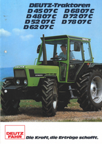 D 4507 C - D 4807 C - D 5207 C - D 6207 C - D 6807 C - D 7207 C - D 7807 C