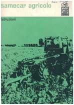 SAMECAR AGRICOLO - Libretto uso & manutenzione