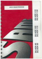 SILVER 85 - 95 - 105 - 110 - 115 - 130 - Libretto Uso & Manutenzione