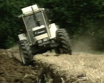 Heavy ground cultivations