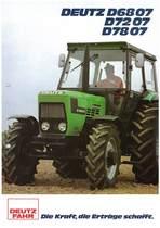 DEUTZ-FAHR D6807-7207-7807 Die Kraft, die Erträge schafft.