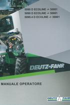 5080 D ECOLINE ->30001 - 5090 D ECOLINE ->30001 - 5090.4 D ECOLINE ->30001 - Manuale operatore