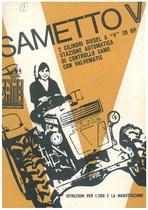 SAMETTO V - Libretto uso & manutenzione