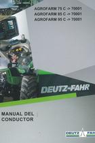 AGROFARM 75 C ->70001 - AGROFARM 85 C ->70001 - AGROFARM 95 C ->70001 - Manual del conductor