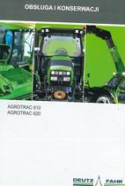 AGROTRAC 610 - 620 - Obsługa i konserwacjI