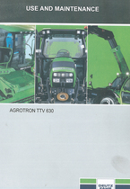 AGROTRON TTV 630 - Use and maintenance