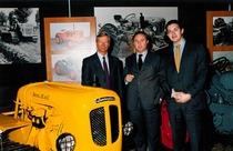 Visita di Tonino Lamborghini al Museo Storico SAME
