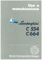 C 554 - C 664 - Libretto Uso & Manutenzione
