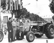 Lancio del trattore SAME Centauro alla 44esima Fiera di Padova e alla presenza del Ministro Leopoldo Rubinacci