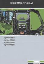 AGROTRON M 600 - AGROTRON M 610 - AGROTRON M 620 - AGROTRON M 640 - Uso e manutenzione