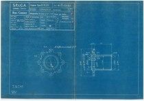 """Motore B 8/110 - Gruppo I: Incastellatura. Commessa 1720"""