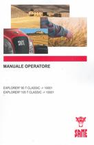 EXPLORER³ 90 T CLASSIC ->10001 - EXPLORER³ 105 T CLASSIC ->10001 - Manuale operatore