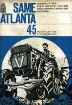 ATLANTA 45 - Libretto uso & manutenzione