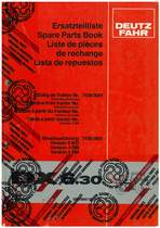 DX 6.30 - Ersatzteilliste / Spare Parts Book / Liste de pièces de rechange / Lista de repuestos