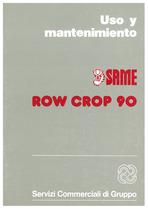 ROW CROP 90 - Uso y manutencion
