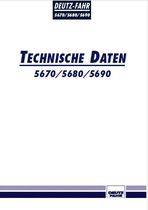 5670 - 5680 - 5690 Technische Daten