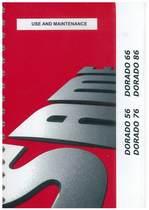 DORADO 56 - 66 - 76 - 86 - Use and maintenance