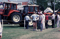 [SAME] trattore Explorer 65 durante una manifestazione