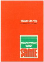 TIGER SIX 105 EXPORT - Libretto uso & manutenzione