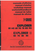EXPLORER 55 -60 -65 -70 -75 - 80 -90 - EXPLORER II 60 - 70 - 80 - 90 - Manual de Taller