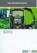 AGROTRAC 610-620 - Use and maintenance
