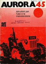 AURORA 45 - Libretto uso & manutenzione