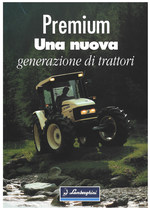 PREMIUM / UNA NUOVA GENERAZIONE DI TRATTORI