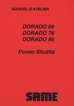 DORADO 66 POWER SHUTTLE - DORADO 76 POWER SHUTTLE - DORADO 86 POWER SHUTTLE - Manuel d'atelier