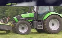 Deutz-Fahr Agrotron TTV 1160 mit Deutz-Fahr Mäher