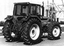 Trattore SAME Laser 110 a 4 ruote motrici in Francia