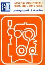 Motori industriali 982 L- 983 L - 984 L - 986L - Catalogo Parti di Ricambio / Catalogue de pièces de rechange / Spare parts catalogue / Lista de repuestos