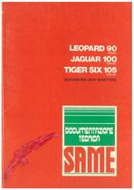 LEOPARD 90 T - JAGUAR 100 E- TIGER SIX 105 EXPORT - Bedienung und wartung
