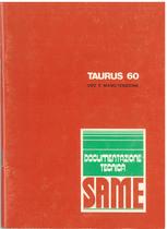 TAURUS 60 - Libretto uso & manutenzione