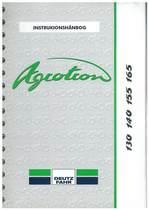 AGROTRON 130-140-155-165 - Bruger-og vedligeholdelsesvejledning